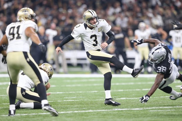 Newly signed Saints kicker Wil Lutz hit on 2 of 4 field goals, but both missed field goals came in the fourth quarter of a deflating 1 point loss in the dome.